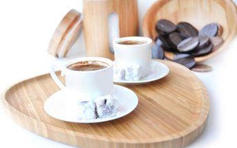 Bambusový kávový tác Macchiato