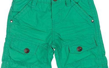 Chlapecké bermudy - zelené