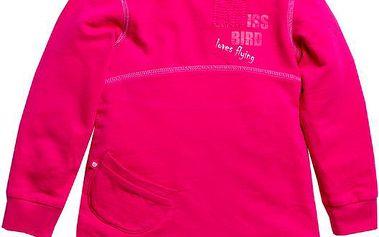 Dívčí mikina - růžová