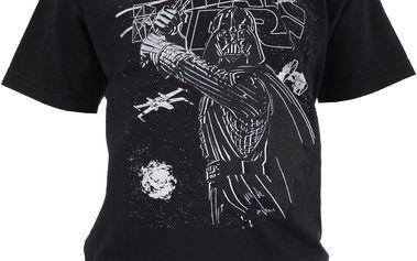 Chlapecké tričko s potiskem Star Wars - černé