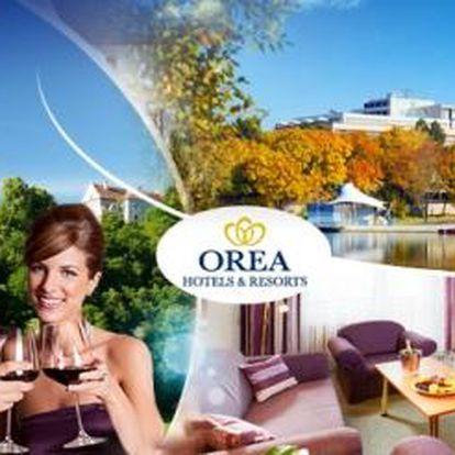Orea Resort Santon - Brno na 3 DNY pro DVA s POLOPENZÍ nebo SNÍDANĚMI, PLAVBOU a prohlídkou hradu!