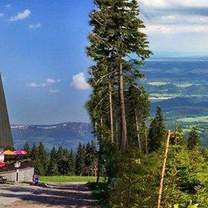 3 denní oddych na vrcholu Černé hory pro dva