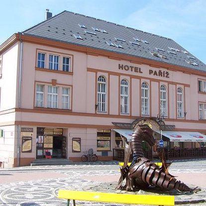 Hotel Paříž - Jičín, Česká republika, vlastní doprava, strava dle programu