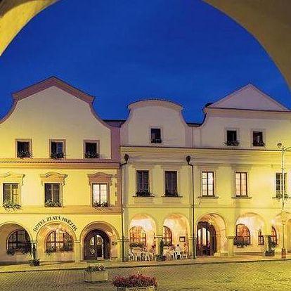 Hotel Zlatá hvězda - Třeboň, Česká republika, vlastní doprava, strava dle programu