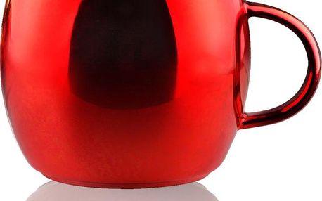 Hrnek Sparkling, červený