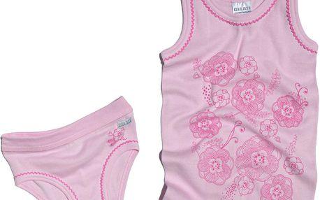 Dívčí spodní prádlo - set - růžový