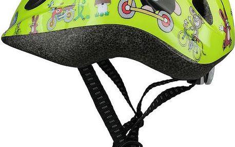Krteček helma spolehlivě ochrání