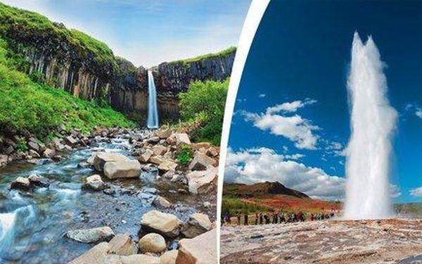 16denní poznávání přírodních krás Islandu