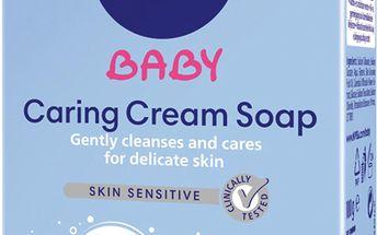 Šetrné krémové mýdlo 100g