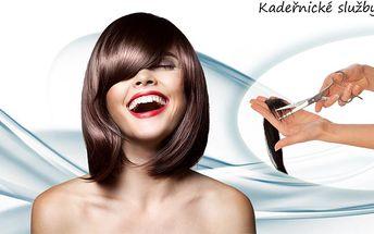 Nejžádanější kadeřnické služby za fantastické ceny! Střih nebo střih + barvení profesionální kosmetikou!