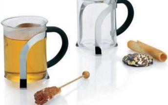 Šálky na čaj VENECIA 200 ml 2ks, skleněné KELA