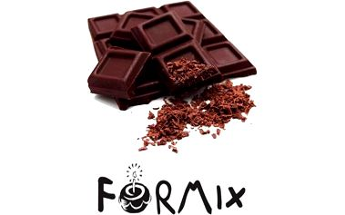Formix čokoláda 1kg - potahovací hmota