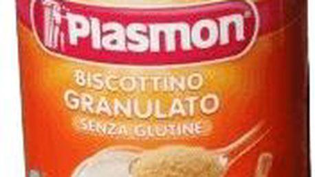 Plasmon dětské bezlepkové sušenky (granulované) 374g