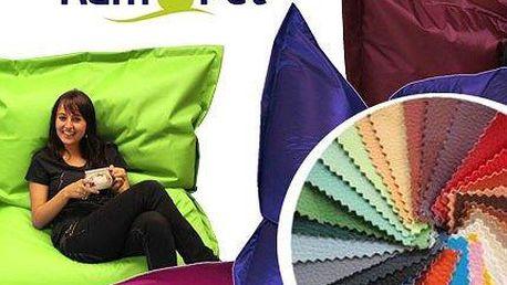 Kvalitní sedací vaky v několika barvách a velikostech! Český výrobce!