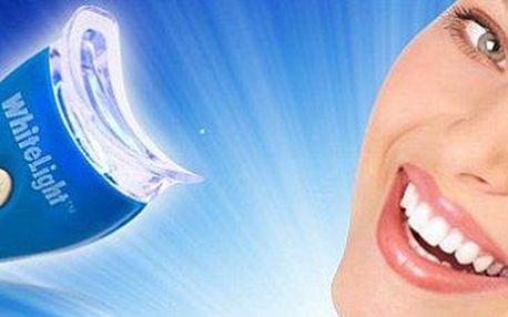 2x bělící systém White Light: zářivě bílé zuby téměř na počkání!