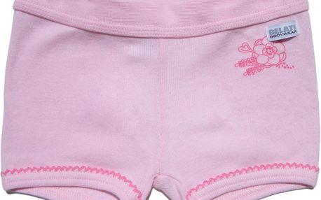 Dívčí boxerkové kalhotky - růžové