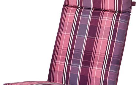 Tchibo, Oboustranné polstrování na židli s vysokým opěradlem, oranžové