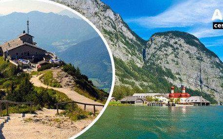 Výlet na Orlí hnízdo a k jezeru Königsee
