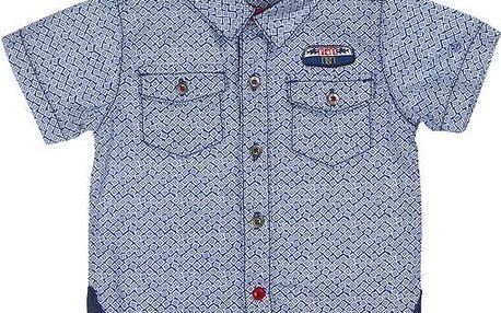 Chlapecká košile - modrá