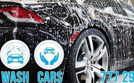 Kompletní ruční mytí automobilů -…