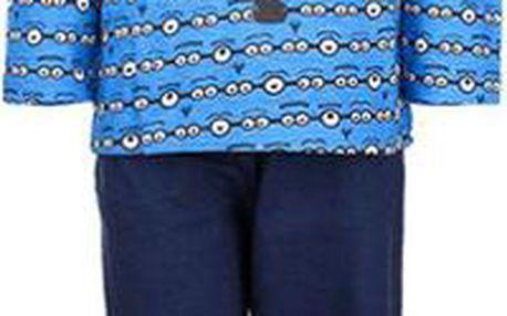 Chlapecké pyžamo Mimoni - modré