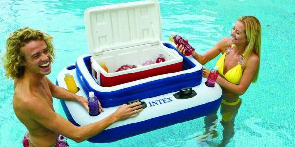 Nafukovací chladnička do vody!