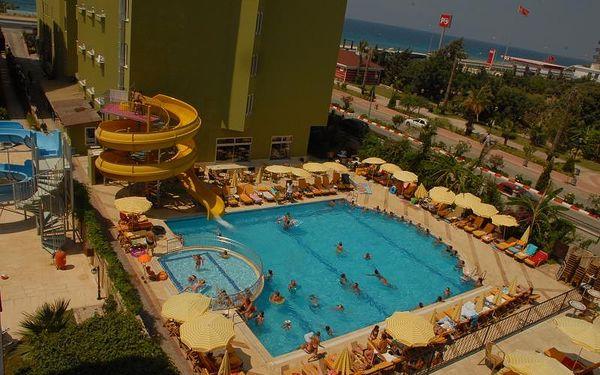 Sunstar Beach, Turecko, Turecká riviéra, 8 dní, Letecky, All inclusive, Alespoň 4 ★★★★, sleva 17 %, bonus (Levné parkování na letišti: 8 dní 499,- | 12 dní 749,- | 16 dní 899,- )