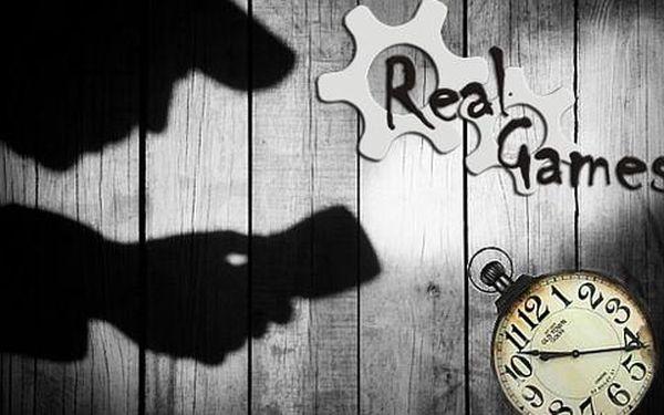 Real Games - výběr z 3 skutečně živých her v Praze plných překážek a záhad