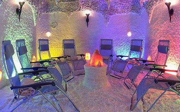 Neomezený vstup do solné jeskyně na rok 2015