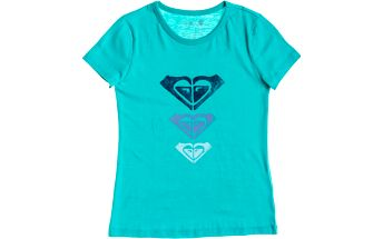 Roxy Basic Tee RG A Baltic Blue, zelená, 12