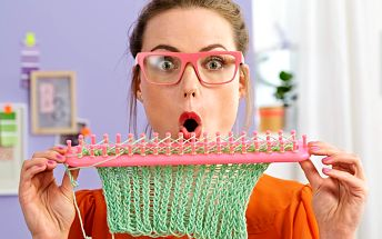 Tchibo, Rámeček na pletení rovný