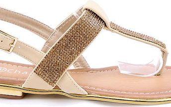 Sandálky béžové EP8652BE 38