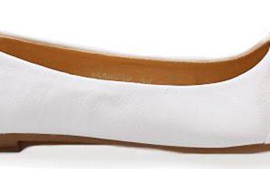 Bílé baleríny 2538-16WH 37