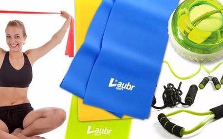 Posilovací gumy, expandéry i fitness set