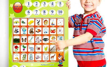 Naučná Pafíkova tabule pro děti!