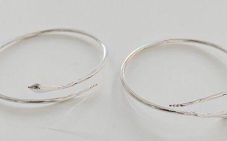 Dámský elegantní náramek ve tvaru hada - vsaďte na jistotu a zvolte dárek, který zaručeně potěší každou ženu!