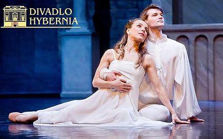 Vstupenky na balet Romeo a Julie v Divadle Hybernia