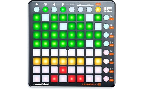 MIDI ovladač, master kontroler Novation Launchpad S