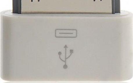Redukce 30Pin Port na Micro USB - iPhone, iPod, iPad