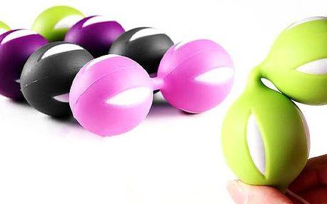 Venušiny kuličky Boobs ve čtyřech barevných variantách pro lepší intimní život