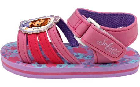 Dívčí páskové sandály Sofie - fialové