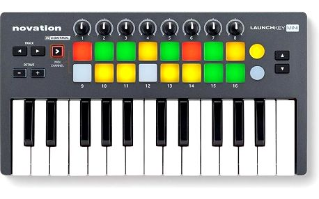 USB/MIDI keyboard, 25 mini kláves Novation Launchkey Mini