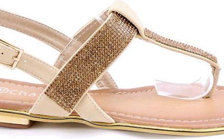 Sandálky béžové EP8652BE 40