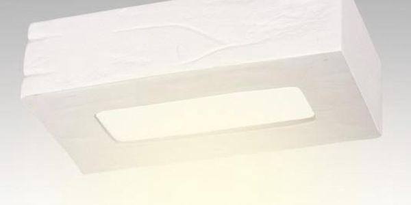 Stropní keramické světlo Cegla, bílé