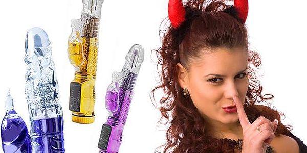 Rotační vibrátor Devil s 8 druhy rotace ve 3 barvách