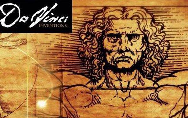 Vstupné na unikátní výstavu Da Vinci ve Velkém sále Lucerny