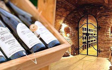 Exkurze do Valtického Podzemí s ochutnávkou vína