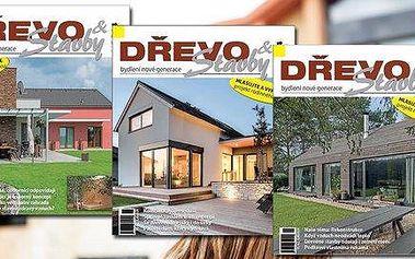 Dvouleté předplatné magazínu Dřevo&Stavby