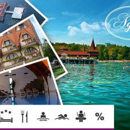 Maďarské lázně Hévíz – 3denní wellness pobyt pro dva