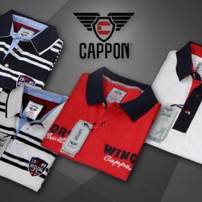 Pánská polokošile značky CAPPON ze 100% bavlny